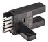 Omron 5 mm 红外 LED 光源 叉形 直通光束(叉形) 光电传感器, NPN输出, 连接器, IP50
