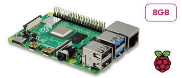 Raspberry Pi 4 B 8GB