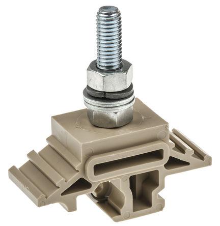 提供酚醛层压分区,以隔开每个接线柱,这些分区位于端子模侧面的插口上