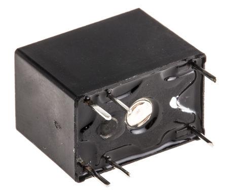 单刀双掷 印刷电路板安装 非闭锁继电器, 12v dc