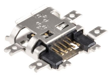 0 印刷电路板插座连接器,最大数据传输率为 480 mbps.