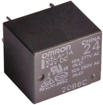 omron单刀双掷继电器接线图