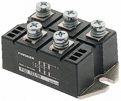 桥式整流器   三相桥式整流器,vuo160 系列,ixys 封装,带螺钉接线