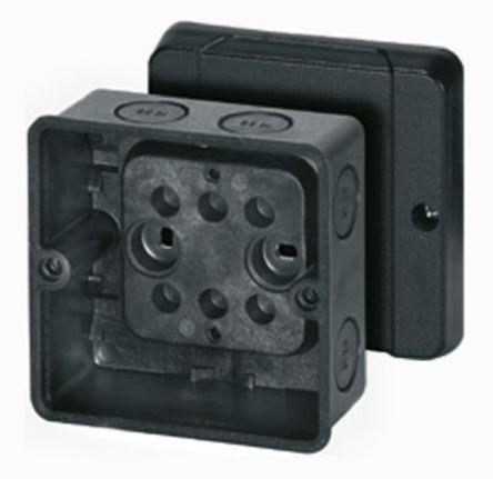 黑色计量接线盒