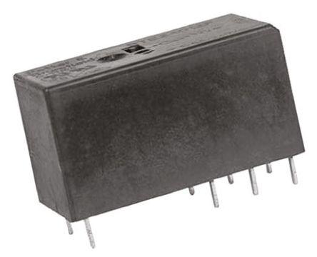 双刀双掷 印刷电路板安装 非闭锁继电器, 5v