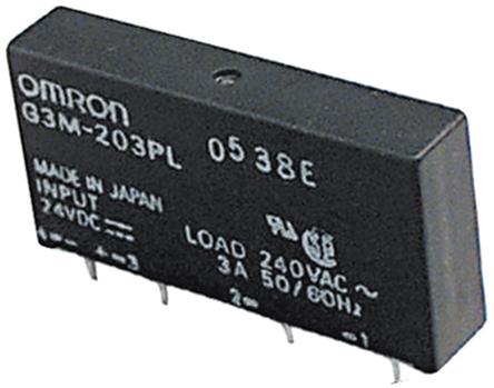 固态继电器超薄紧凑,特别适用于紧密的印刷电路板