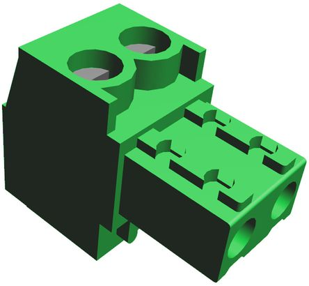 81mm 印刷电路板端子块插头连接器 一系列 termi-blok 3.