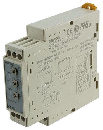 omron 1相 电压 监控继电器