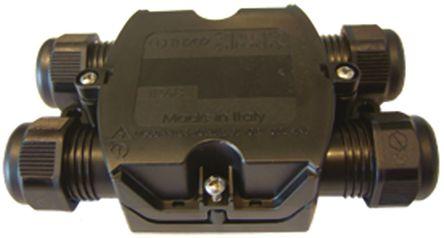 螺钉接线端子使这些防水/耐候性连接器很容易接通