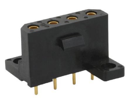 08mm节距 直 印刷电路板安装 pcb 插座, 插座